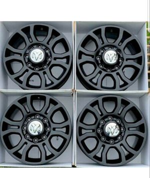 "18"" Dodge Ram 2500 3500 Black wheels rims OEM 2016 2017 2018 2019 for Sale in Long Beach, CA"