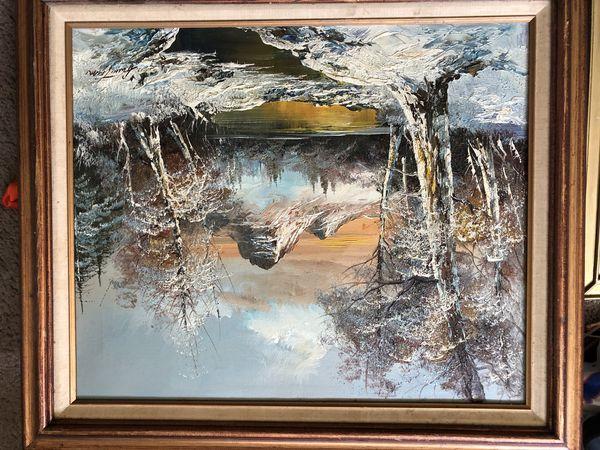 Mirror and wall art