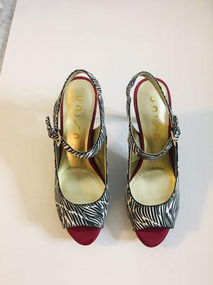 Zebra & Red Heels Size 8 for Sale in Ooltewah, TN