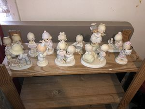Precious Moments Lot Rare 12 Statues Figurines for Sale in undefined