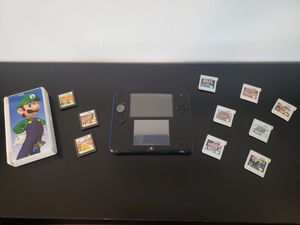 Nintendo 2DS with games and case bundle for Sale in Hialeah, FL