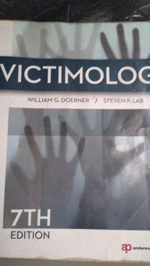 Victimology book don't want to ship trade straight across for Sale in Anaheim, CA