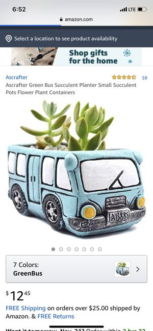 Flower pot bus for Sale in Grove City, OH