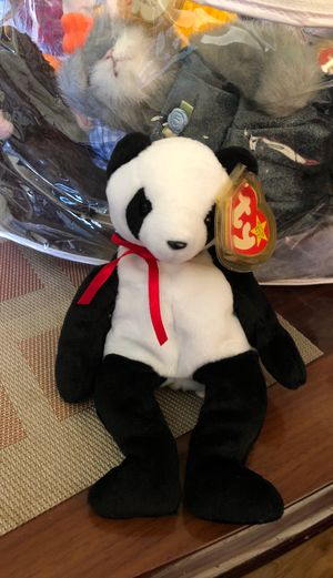 1998 Ty Beanie Baby Fortune the panda for Sale in Pittsburg, CA