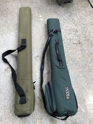 Fly fishing rod travel cases (White River & BW Sports) for Sale in Portland, OR