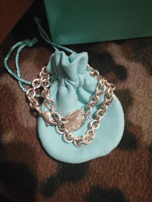 SOLD !!!!Tiffany & Co Jewelry. 925 sterling 15 inches long. IF you see, it's available:) for Sale in Yuma, AZ