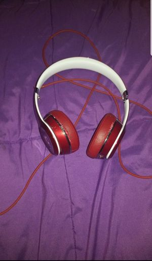 Red or Burgundy limited edition beat headphones for Sale in Fort Lauderdale, FL