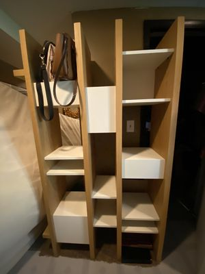 Two book shelves cube organizer heavy and well made for Sale in North Ridgeville, OH