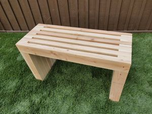 Custom Wood Modern Bench for Sale in San Diego, CA