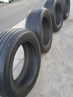 275 55R20 LLANTAS For Sale $150 SET OF FOUR TIRES for Sale in Anaheim,  CA
