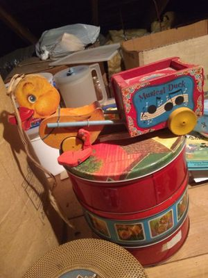 Fisher Price musical duck pull toy for Sale in Quakertown, PA