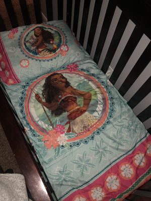 Moana toddler bedding for Sale in Beaumont, CA