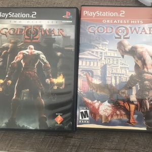 Ps2 Games God Of War 1 And 2 for Sale in Surprise, AZ