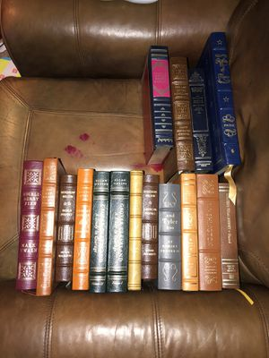 Leather back books for Sale in Odessa, TX