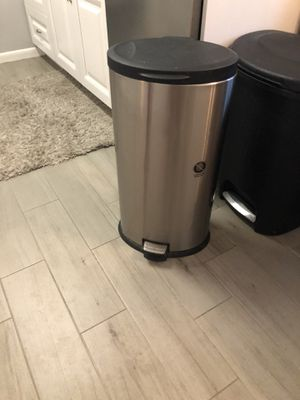 Stainless steel trash can for Sale in Palm Harbor, FL