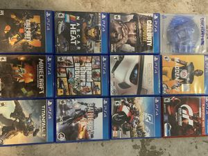 Ps4 games for Sale in Salt Lake City, UT