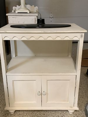 White distressed tv stand for Sale in San Diego, CA