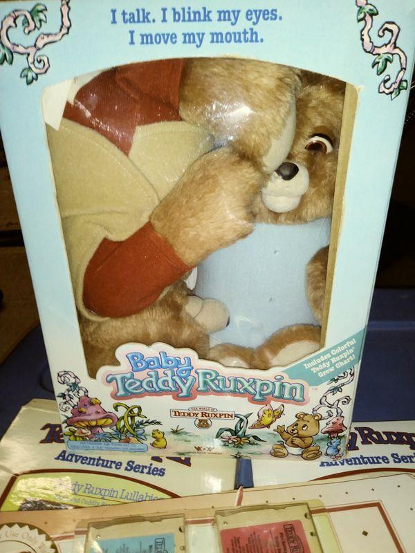 Teddy Ruskin and grubby