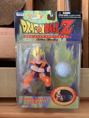 Dragon Ball Z Super Saigon Goku Action Figure for Sale in Fremont, CA