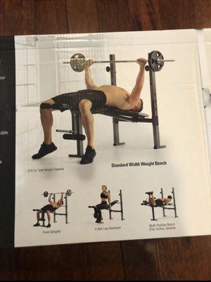 Bench press brand new for Sale in Springfield, VA