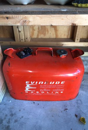 Outboard evinrude Johnson gas tank for Sale in Round Lake, IL