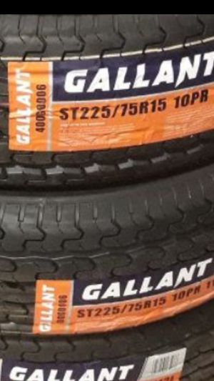 225/75/15 (4) NEW TRAILER 10PLY LOAD RANGE E TIRES in for Sale in Los Angeles, CA