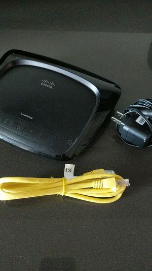 Cisco Linksys wireless wifi router for Sale in La Crosse, WI