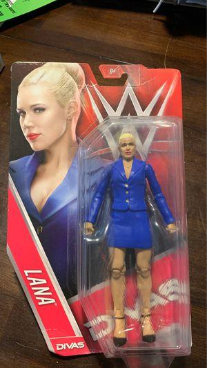 WWE Mattel Lana Figure in box for Sale in Santa Fe Springs, CA
