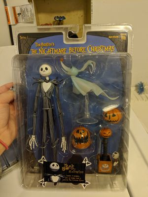Collectable Jack Skellington NECA Series 1 (2004) Nightmare Before Christmas for Sale in Snoqualmie, WA