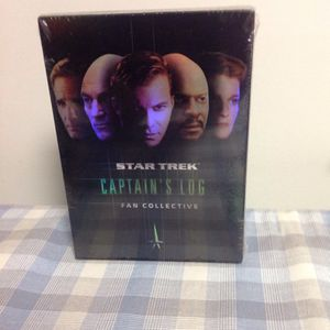 Brand new...Star Trek Captain's Log Fan Collective 3 DVD's for Sale in Doylestown, PA
