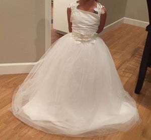 Flower Girl communion baptism princess dress for Sale in Escondido, CA