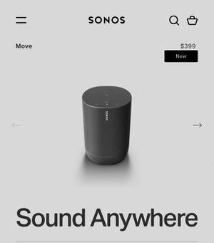 """Brand new"" SONOS PORTABLE SPEAKER AMAZING SOUND for Sale in Nashville, TN"