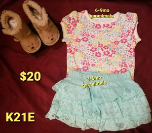Girls used clothes 6-12mos, K21E for Sale in Las Vegas, NV