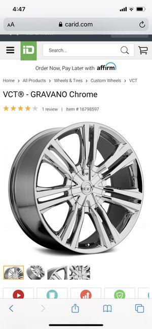 """VCT 20"""" inch Gravano Rim. for Sale in Charleston, SC"""