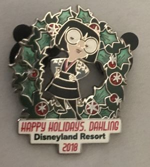 Disney Incredibles Edna 2018 Holiday pin. for Sale in Long Beach, CA