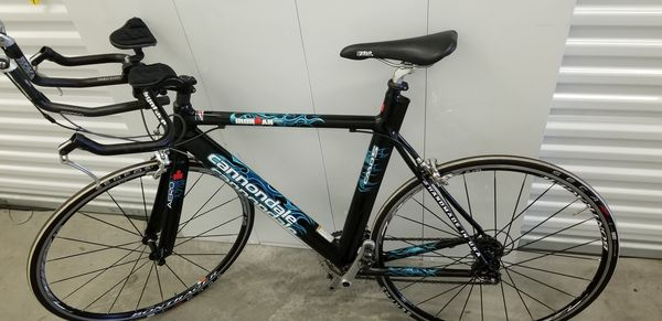 Cannondale iron man 2000 cadd 5 racing bike carbon and light