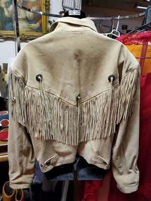 M JULIAN Fringe Suede Jacket for Sale in North Ridgeville, OH