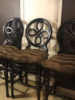 """3 Barstools 30"""" High for Sale in Raleigh,  NC"""