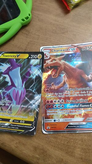 Two large Pokemon cards for Sale in Rockville, MD