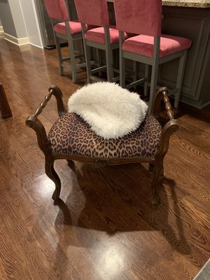 Leopard print bench for Sale in Smyrna, GA