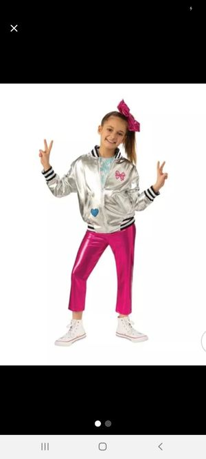 Girls' JoJo Siwa Pants/Jacket Halloween Costume Large for Sale in Pomona, CA