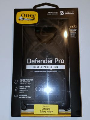Samsung Galaxy note 9 OtterBox defender pro series phone case for Sale in Wichita, KS