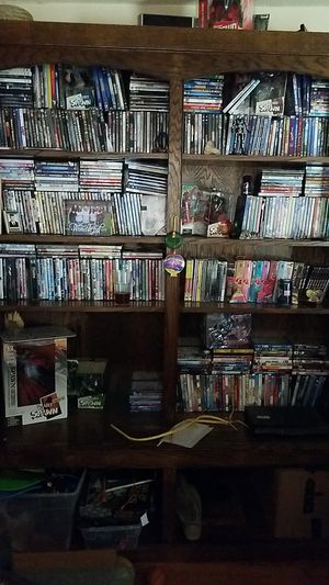 Book/dvd shelf for Sale in Gastonia, NC