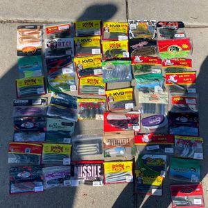 Bass Fishing Plastics for Sale in San Jose, CA