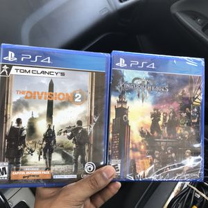 The Division 2 & Kingdom Hearts (Sealed) for Sale in Temple, TX