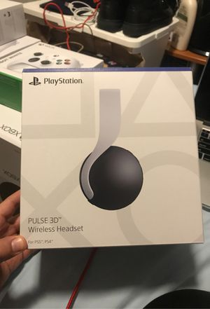 Playstation Pulse 3D Wireless Headset For PS5/PS4 for Sale in Brooklyn, NY