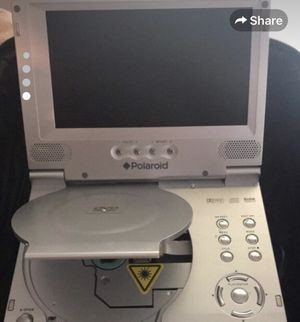 Portable DVD player and carrying case and Blu-ray DVDs for Sale in Falmouth, MA