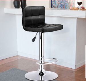 Bar Stool Countertop Chair Swivel Black Leather for Sale in Sarasota, FL