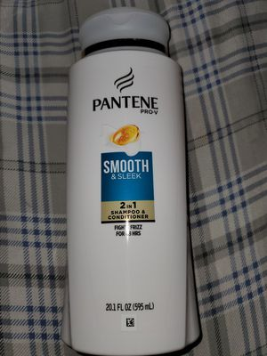 Pantene ProV smooth and sleek 2in1 shampoo and conditioner large bottle for Sale in Las Vegas, NV