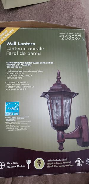 Outdoor lantern light for Sale in Anchorage, AK